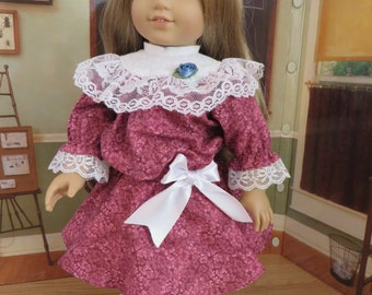 18 Inch Doll Clothes - Edwardian Style Dress