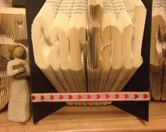 Welsh Cariad Book Folding/art Pattern