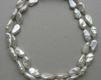 collier perle scaramazze // baroque pearls necklace