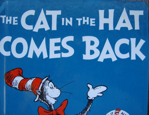 Cat In Hat Book Club Edition Random House