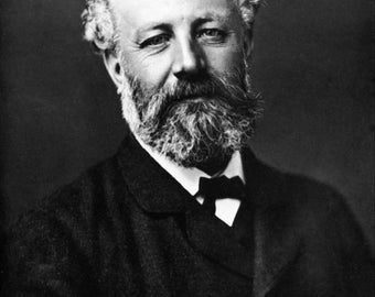 Photo of Jules Verne, author, by Felix Nadar