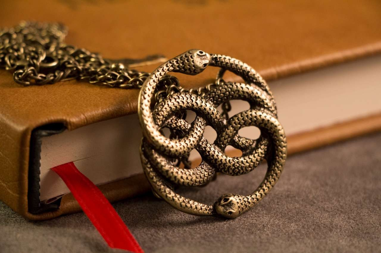 auryn necklace pendant gold inspired by the neverending