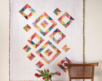 Diamonds in the Rough Quilt Pattern - EP9385
