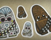 New Chewbacca Inspired Sticker Sheet