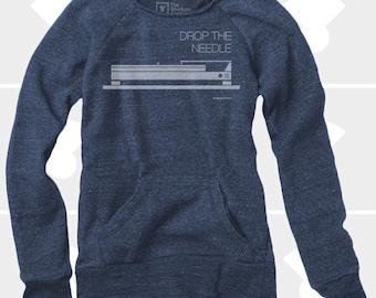 Drop the Needle - Women's Slouchy Sweatshirt