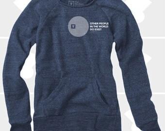 Other People - Women's Slouchy Sweatshirt