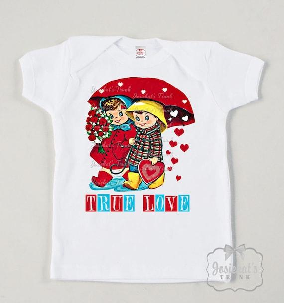 Kids shirt true love shirt personalized kids tee custom size