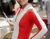 cate archer emma peel austin powers 60's spy bodysuit size 4