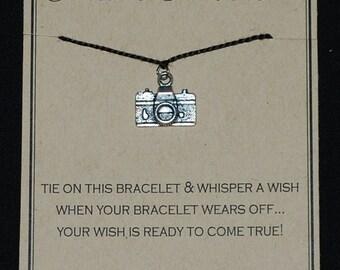 Camera Photographer Wish Bracelet - Buy 3 Items, Get 1 Free
