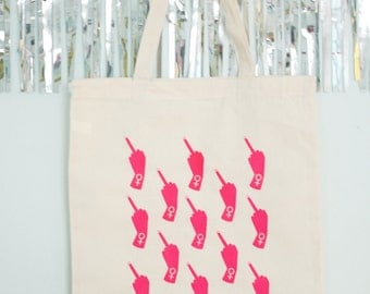 Middle Fingers Tote