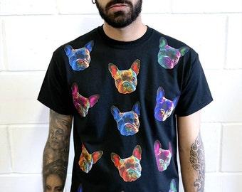 French Bulldog T-Shirt - Black
