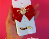 Sailor moon bow white iphone 6 case