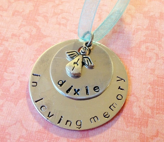 Personalized In Loving Memory Christmas Ornament