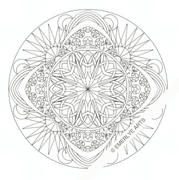 celestial coloring pages - photo#6