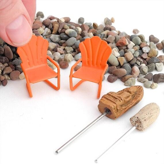 Tiny miniature buddha zen garden set for terrarium - Zen garten miniatur set ...