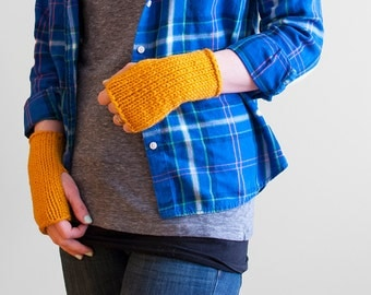 The Willows + Knit Wrist Warmers + Made to Order
