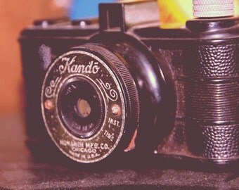 Vintage Kando Camera Fine Art Print- Vintage, Nostalgic, Home Decor, Photography, Gift, Zen