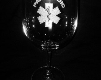 Paramedic 11 Ounce Wine Glass