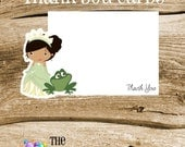 Frog Prince Friends Party - Set of 8 Princess and Frog Thank You Cards by The Birthday House