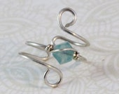 Pacific Opal Swirl Earcuff Swarovski Crystal