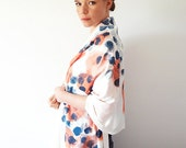 Paint Spots Hand Printed Scarf
