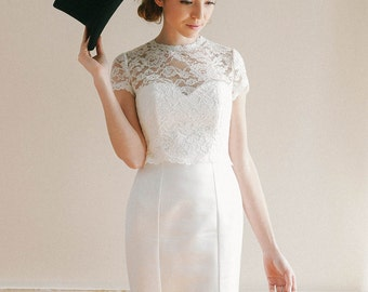 lace wedding dress cover up | Wedding