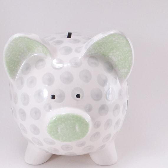 Golf Ball Piggy Bank Personalized Piggy Bank Golfing