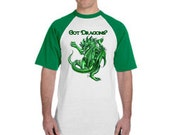 Got Dragons t-shirt with artwork by Ruth Thompson-Soden