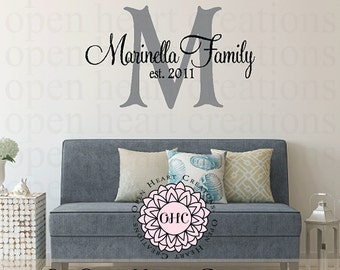Removable Vinyl Wall Decals  Words For Home By OpenHeartCreations - Custom vinyl wall decals canada   how to remove