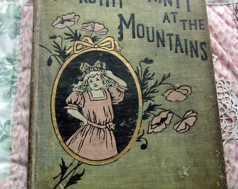 SALE 1911 Dorothy Dainty at the Mountains. Amy Brooks, Illustrated Hardcover. FIRST EDITION