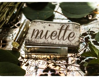 miette - natural perfume oil mini sampler pack - 2 vial value pack - primary notes: honeydew & green grass