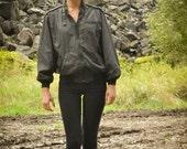 Vintage Members Only Jacket Black size 44 Unisex Windbreaker Lightweight Coat