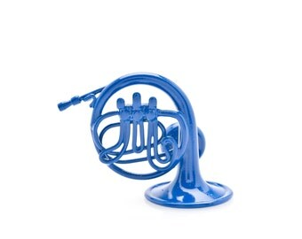 Blue French Horn Magnet, inspired by How I Met Your Mother