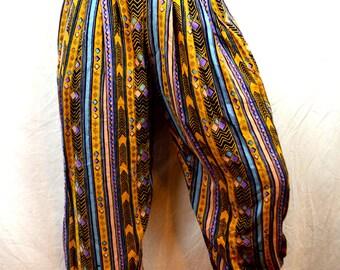 Vintage 90s Super Cute Harem Baggy Pants