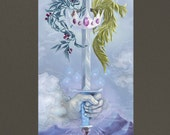 Ace of Swords Poster / Print by Lindsay Nohl