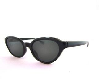 1950s Cats Eye Frames // 50s Vintage Cateye Eyeglasses //  Black // Atrio brand/Germany