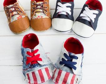 no 682 Kaley Baby Sneakers PDF Pattern