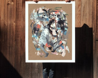 Everywhere .  extra large wall art . giclee print