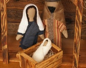Hands-on Nativity Set Holy Family by Engel Soft Sculpture