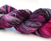 Superwash Merino Classic Sock/Fingering Yarn- Kettle Dyed - 100g