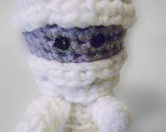 Adorable Teeny-Tiny Mummy Crocheted