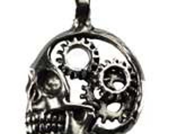 Steampunk Skull, Jewelry Making, Metaphysical Crafts