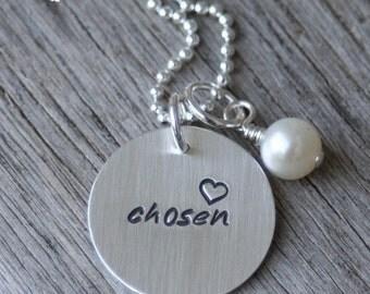 Chosen Adoption Necklace