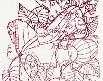 Greek Gods - Dionysus Embroidered 100% Cotton Kitchen Towel