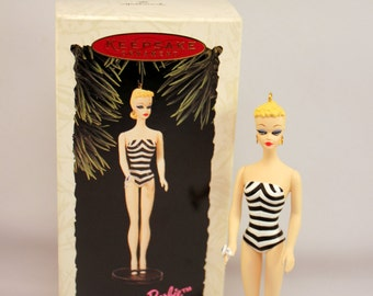 1994 Hallmark Barbie Doll Keepsake Ornament Debut 1959