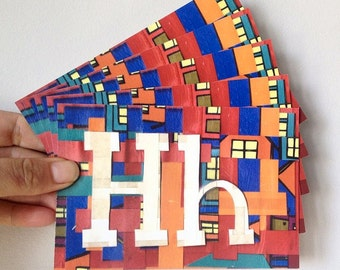 H is for House Postcards