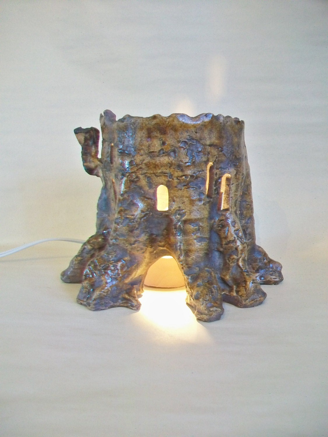 how to make a stump light