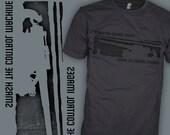 Ministry Band Shirt - William S Burroughs Shirt - Political Punk Author Shirt- FREE SHIPPING
