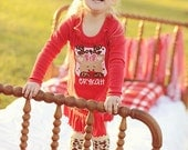 Personalized Cutie Reindeer Outfit