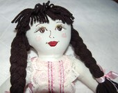 Rag Doll Renee in Pink with Ribbons and Bows
